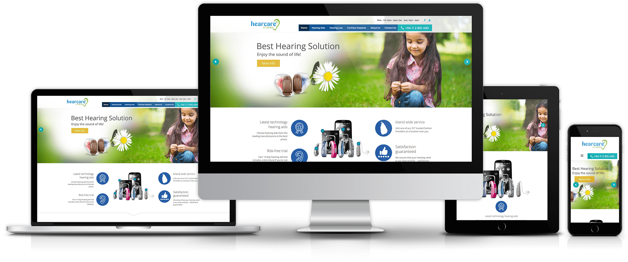 hearcare- website