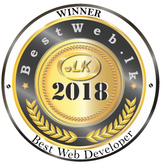 Web Lankan- Award- Best web developer