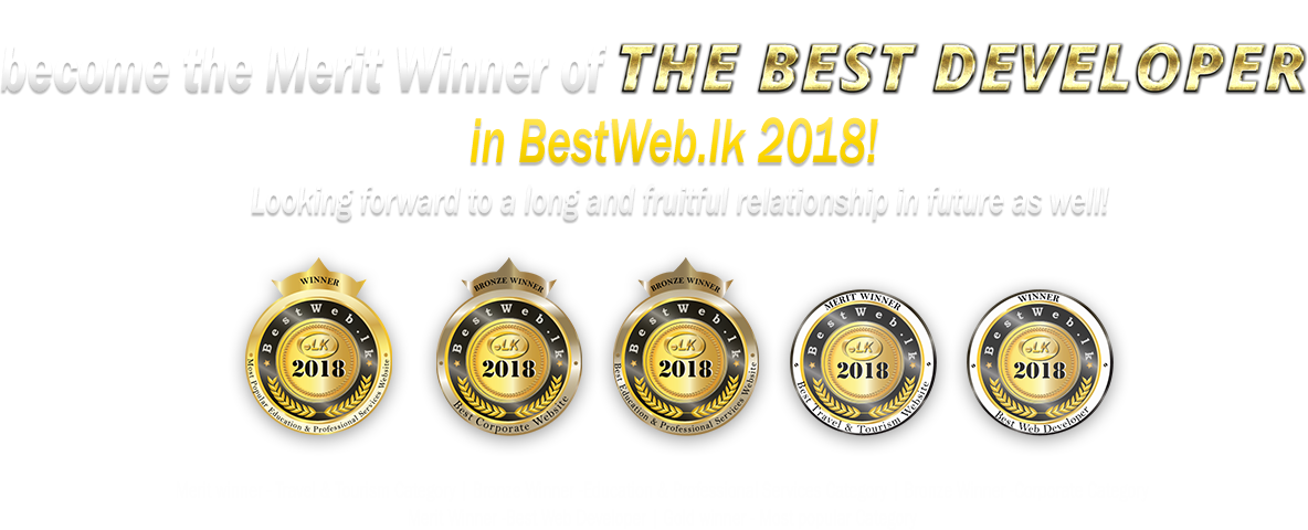Awards- best developer-2018-Bestweb.lk